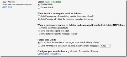 GMail_IMAP設定1
